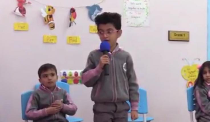 مسابقة التحدي لتلاميذ الصف الاول والثاني الابتدائي لمدرسة منهج الابداع الابتدائية المختلطة